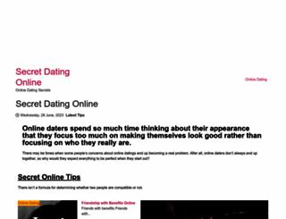 secretdatingonline.com screenshot