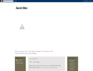 secretdeco.blogspot.com screenshot