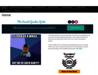 secretgardenquito.com screenshot