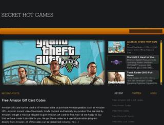 secrethotgames.com screenshot