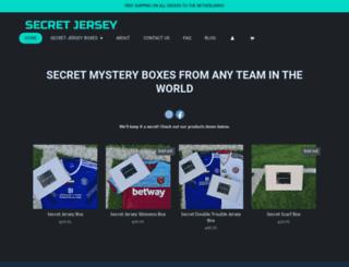 secretjersey.com screenshot