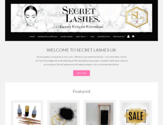 secretlashes.co.uk screenshot