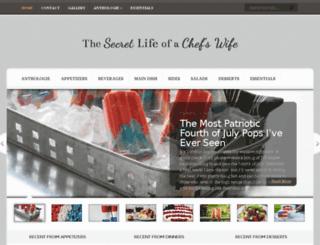secretlifeofachefswife.com screenshot