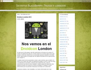 secretosblackberry.blogspot.com screenshot