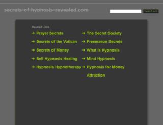 secrets-of-hypnosis-revealed.com screenshot