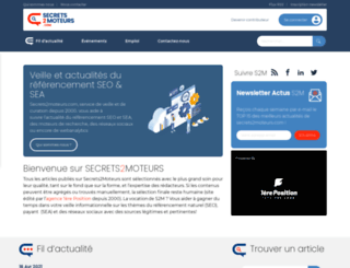secrets2moteurs.com screenshot