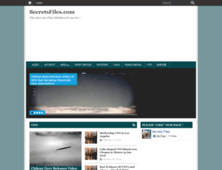 secretsfiles.com screenshot