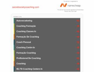 secretsocietycoaching.com screenshot