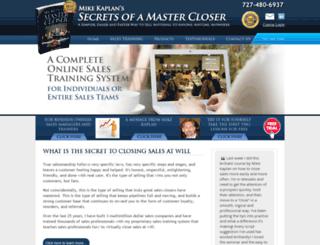 secretsofamastercloser.com screenshot