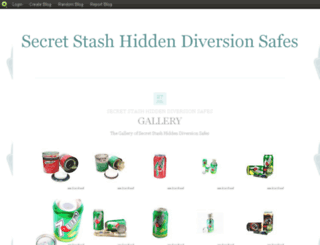 secretstashhiddendiversionsafes.blog.com screenshot