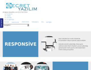 secretyazilim.esy.es screenshot