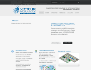 secteur-productique.com screenshot