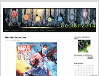 sector2814comics.wordpress.com screenshot