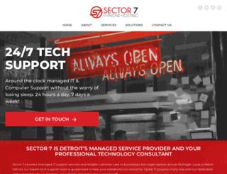 sector7llc.com screenshot