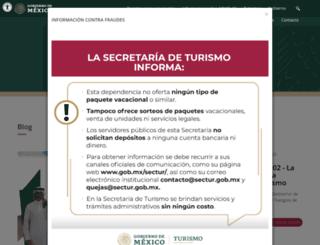 sectur.gob.mx screenshot