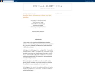 secular-right.blogspot.com screenshot