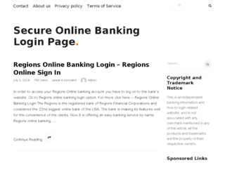 secure-banklogin.com screenshot