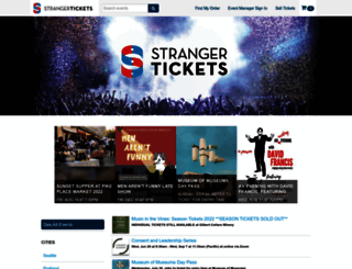 secure-bumbershoot.strangertickets.com screenshot