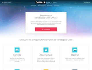 secure-espaceclient-canalplus.canal-plus.com screenshot