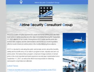 secure-skies.org screenshot