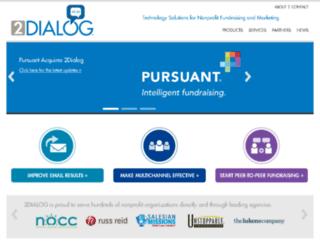 secure.2dialog.com screenshot