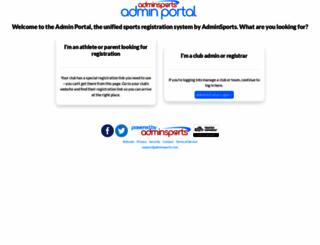 secure.adminsports.net screenshot