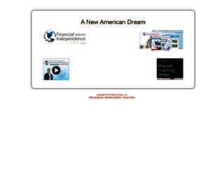 secure.anewamericandream.com screenshot