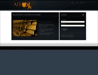 secure.anglofareast.com screenshot
