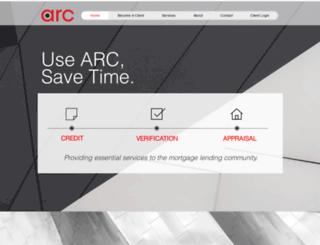 secure.arcreports.com screenshot