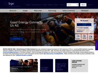 secure.bge.com screenshot