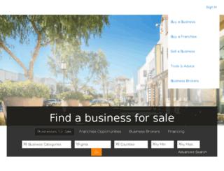 secure.bizbuysell.com screenshot