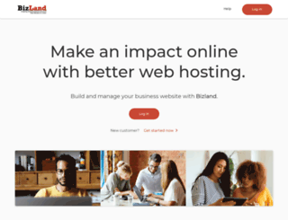 secure.bizland.com screenshot