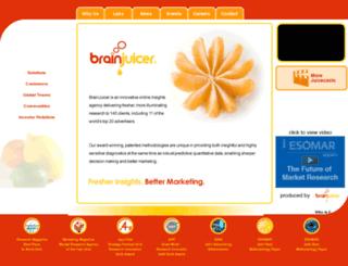 secure.brainjuicer.com screenshot
