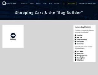 secure.brightlinebags.com screenshot
