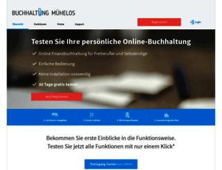 secure.buchhaltung-muehelos.de screenshot
