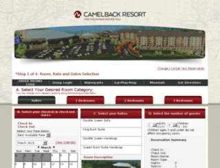 secure.camelbackresort.com screenshot