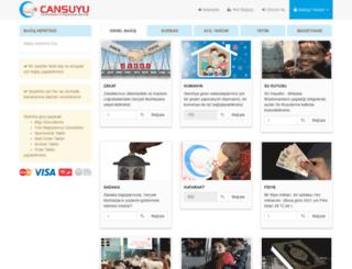 secure.cansuyu.org.tr screenshot