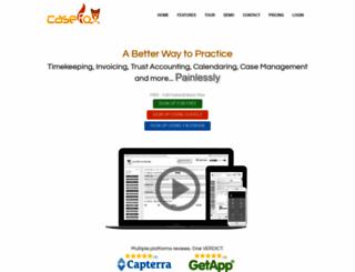 secure.casefox.com screenshot