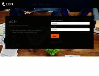 secure.cbn.net.id screenshot
