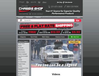 secure.chassisshop.com screenshot
