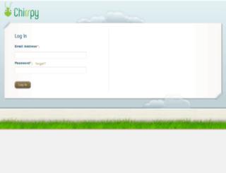 secure.chirrpy.com screenshot