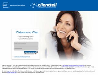 secure.clienttell.net screenshot