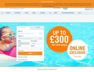 secure.cooptravel.co.uk screenshot