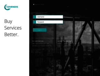 secure.covendis.com screenshot