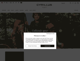 secure.cyrillus.com screenshot