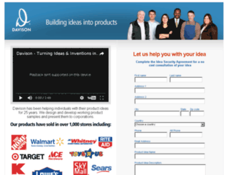 secure.davisoninventing.com screenshot