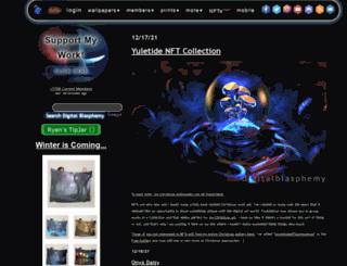secure.digitalblasphemy.com screenshot