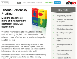 secure.discusonline.com screenshot