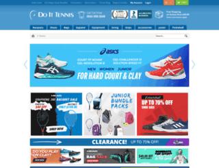 secure.doittennis.com screenshot