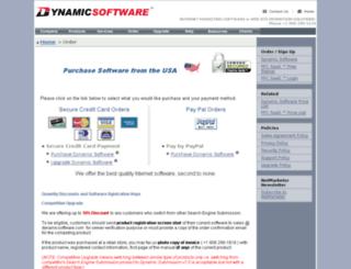 secure.dynamicsoftware.com screenshot